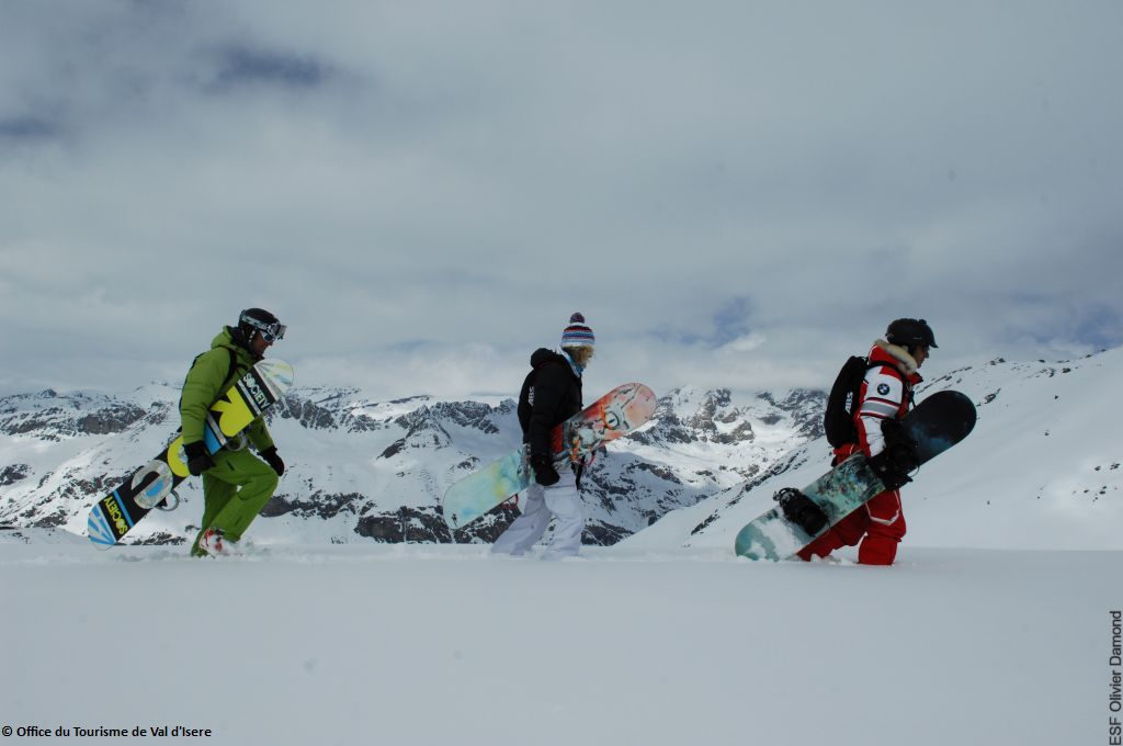 Powder Snowboardcamp Val d´Isere